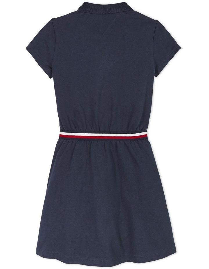 Global Stripe  Polo Dress Short Sleeve image 2