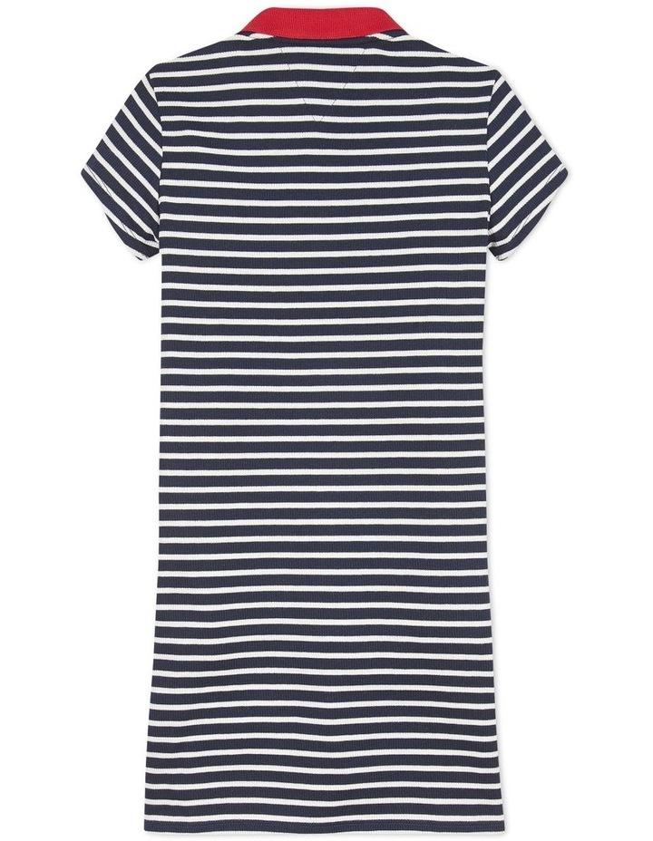 Collar Detail Polo Dress Short Sleeve image 2