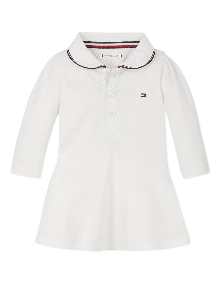 Baby Polo Dress Long Sleeve image 1