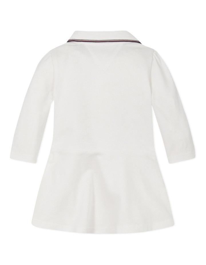 Baby Polo Dress Long Sleeve image 2