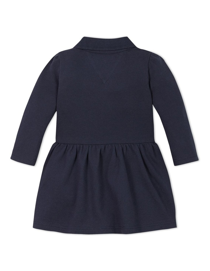Baby Block Polo Dress Long Sleeve image 2
