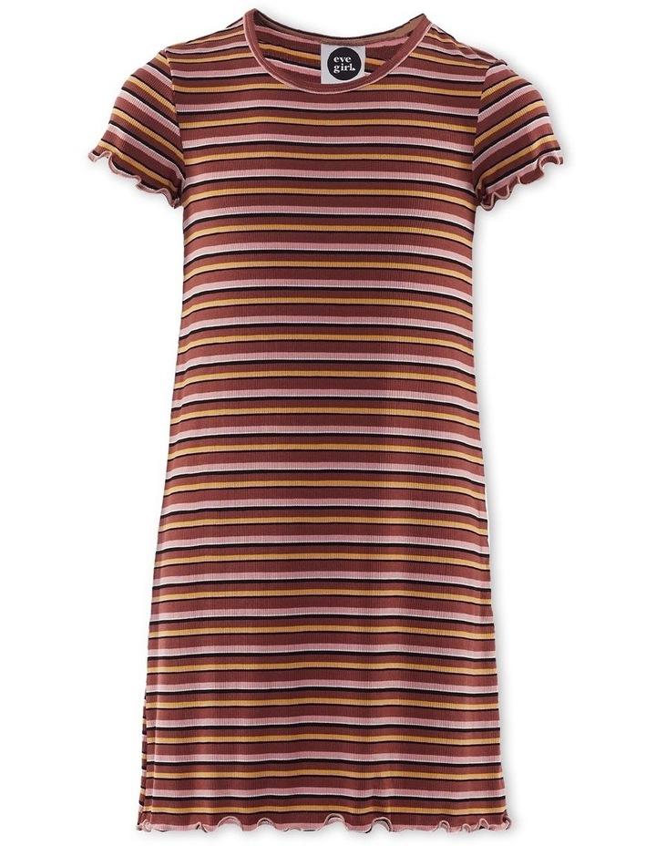 Luca Rib Dress Brown image 1