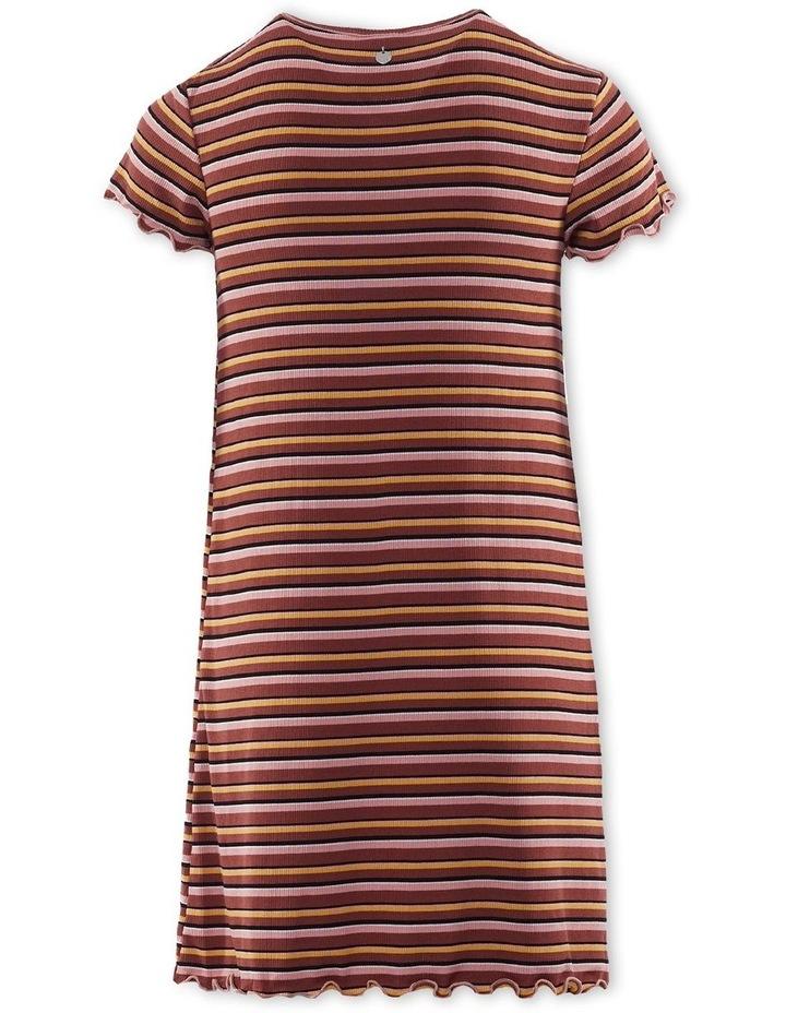 Luca Rib Dress Brown image 2