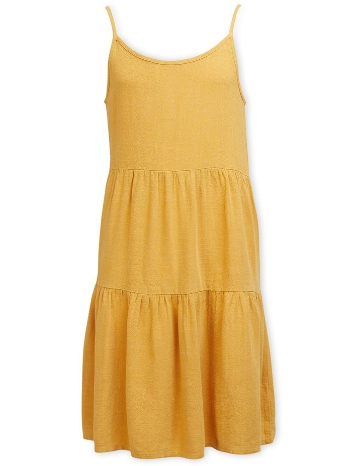 Bronte Relaxed Slip On Dress Mustard image 1
