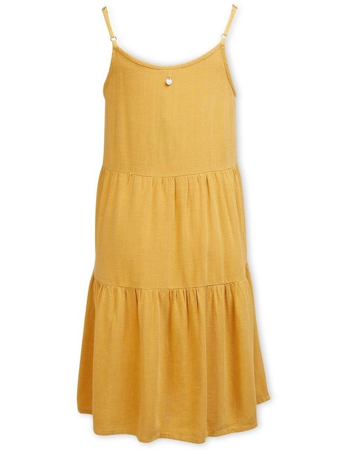 Bronte Relaxed Slip On Dress Mustard image 2