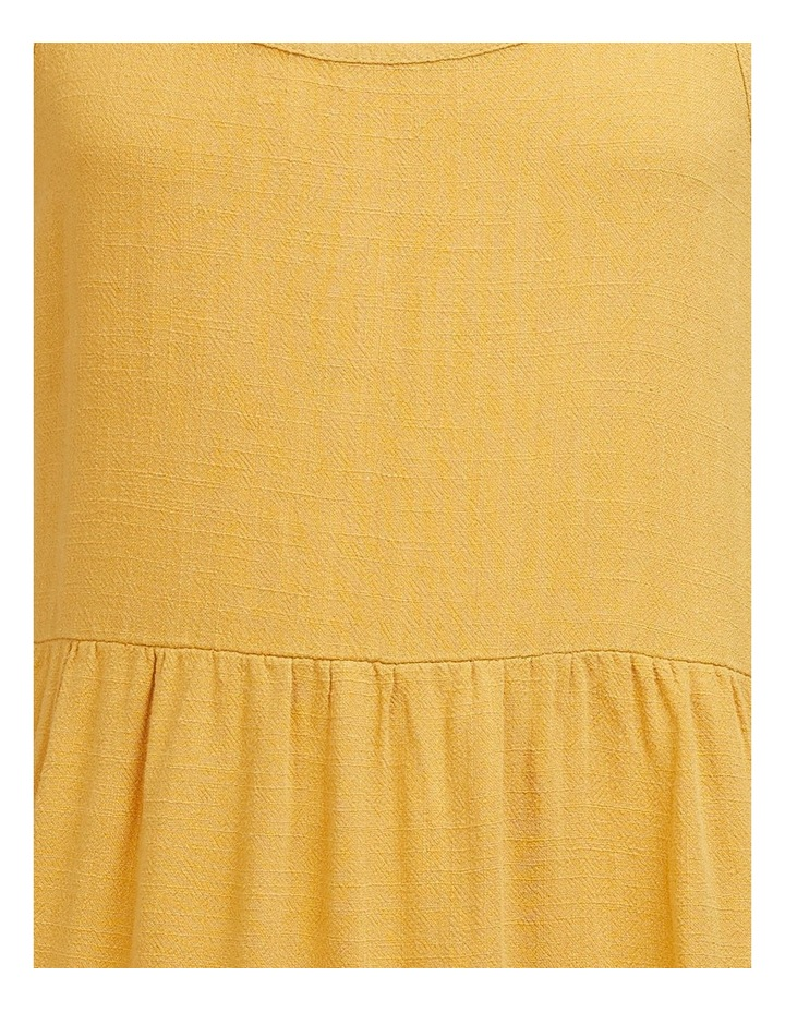Bronte Relaxed Slip On Dress Mustard image 3