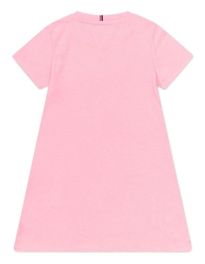 Signature Logo Organic Cotton T-Shirt Dress image 2