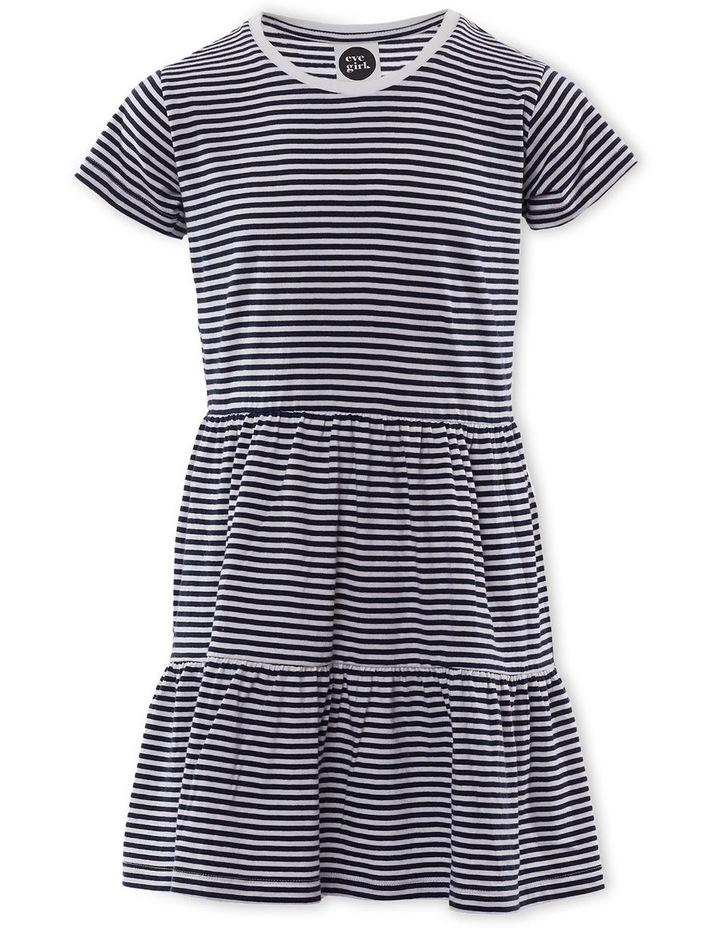 Stripe Beach Dress 8-16 image 1