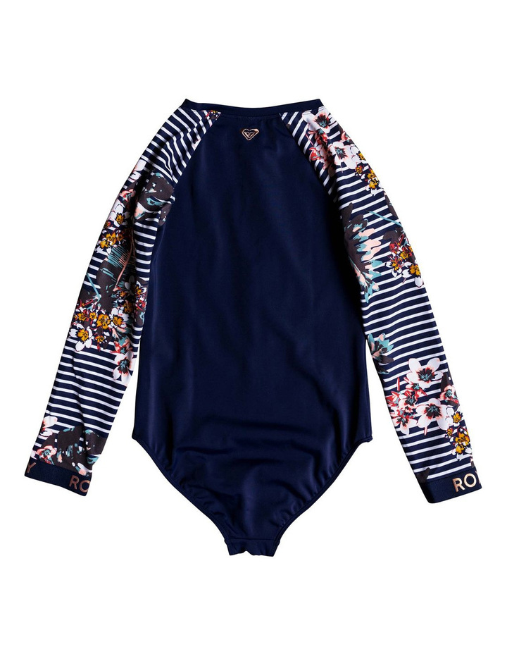 Keep In Flow - Long Sleeve UPF 50 Zipped One-Piece Rashguard image 2