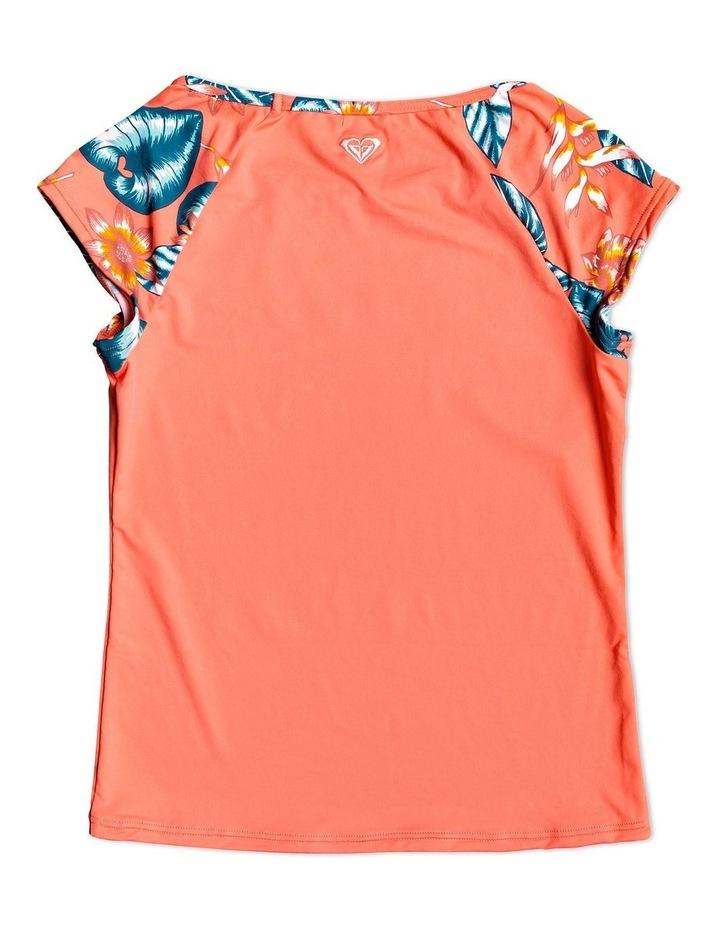 Floral Time Cap Sleeve Upf 50 Rash Vest image 2