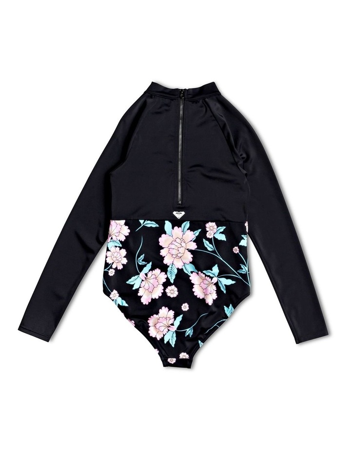 Love The Surf - Long Sleeve Zipped UPF 50 One-Piece image 2