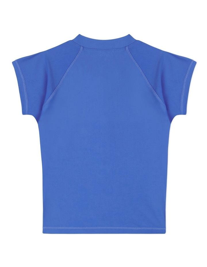 Short Sleeve Zip Front Rashie image 2