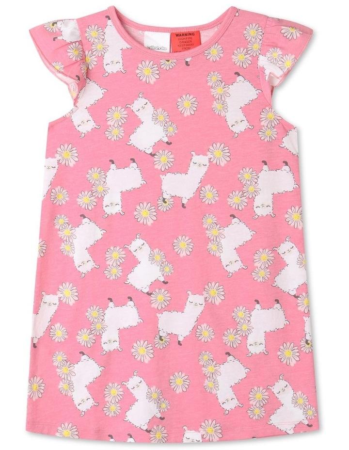 Llama Nightie Pink image 1