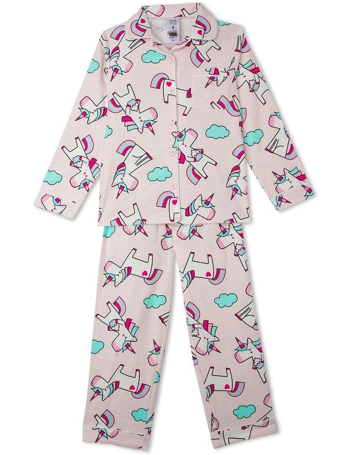 Essentials Flanelette Pyjama Set image 1