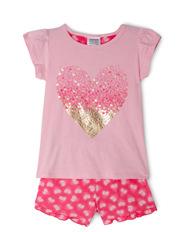 Essentials Short Sleeve Pyjama Set