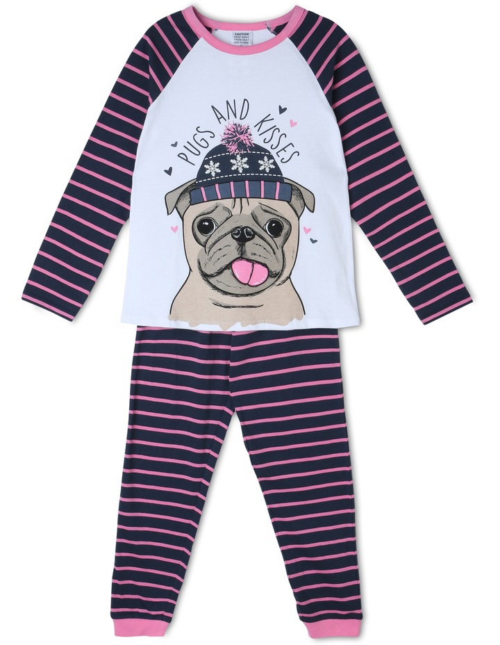 Pugs And Kisses Pyjama image 1