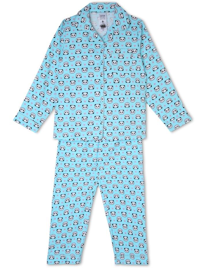 Panda and Hearts Pyjama image 1