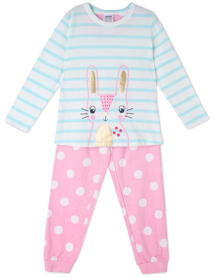 Bunny Face Striped Pyjama image 1