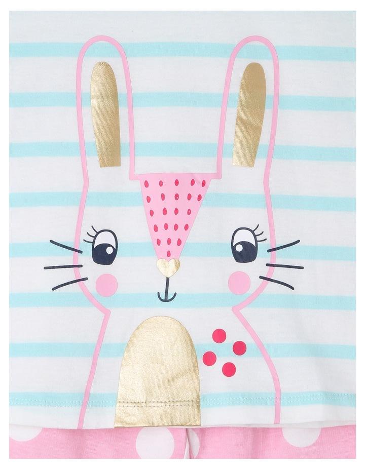 Bunny Face Striped Pyjama image 2