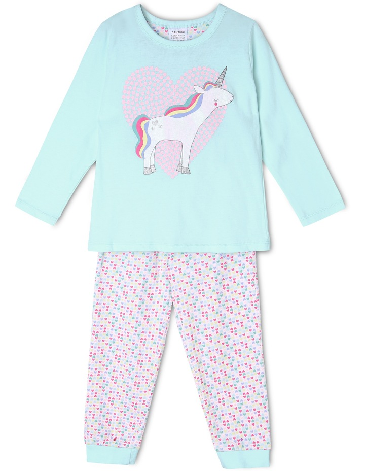 Unicorn And Heart Pyjama image 1