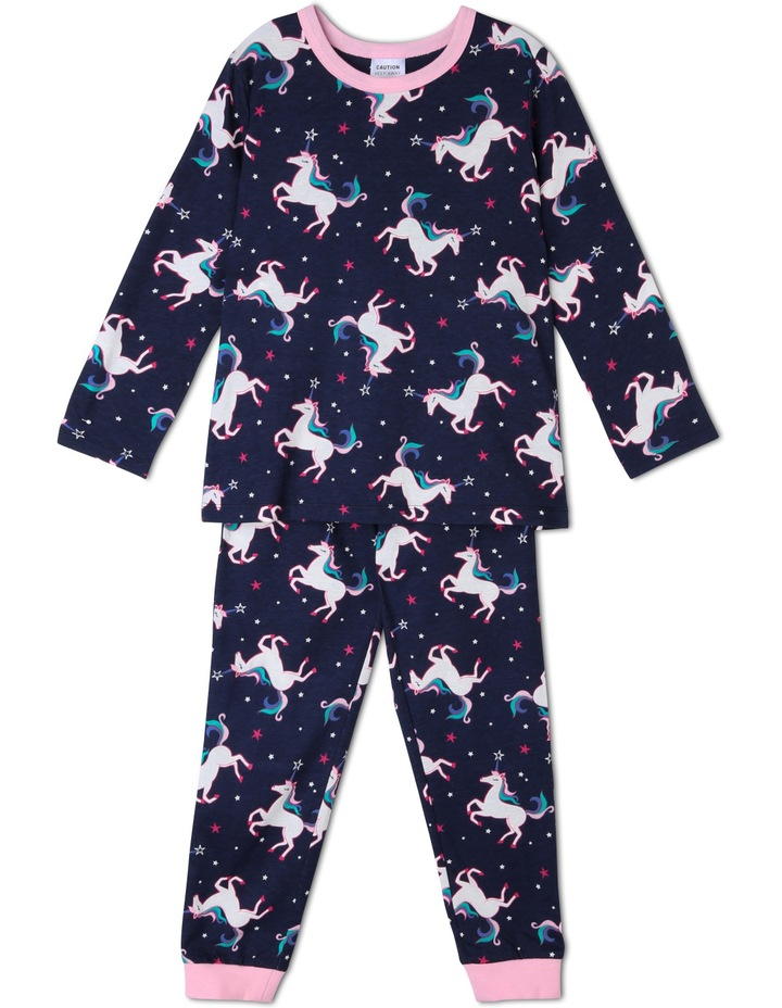 Stars and Unicorns Print Pyjama image 1