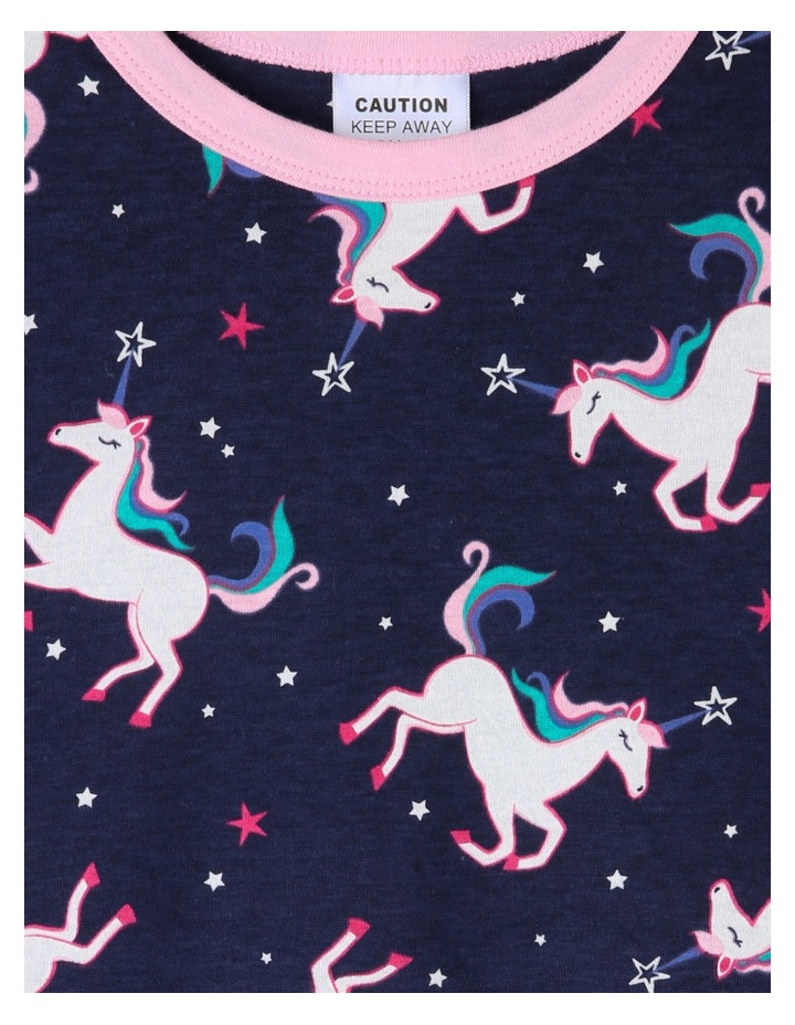Stars and Unicorns Print Pyjama image 2