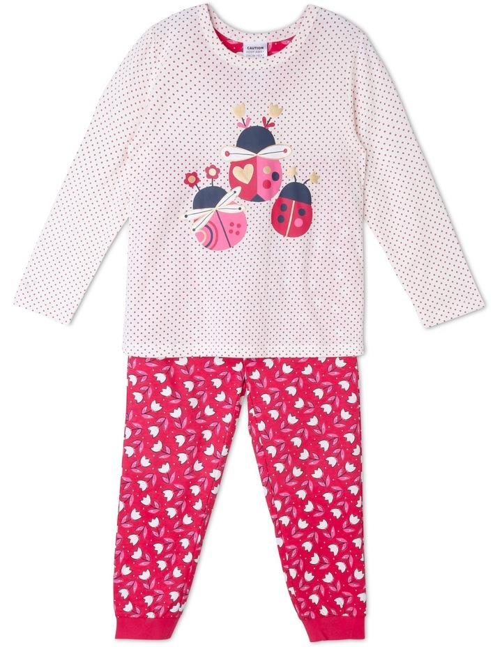Lady Bug Print Pyjama. image 1