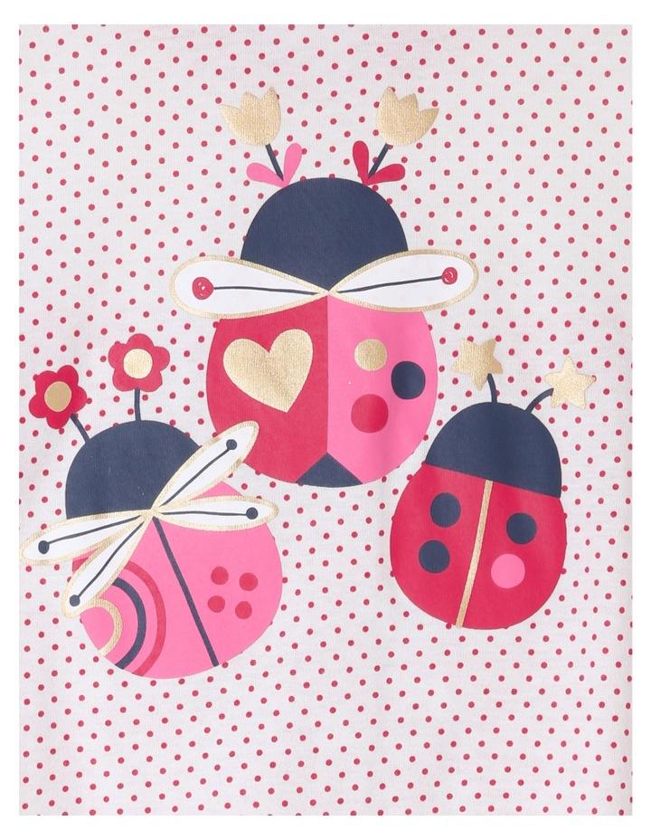 Lady Bug Print Pyjama. image 2