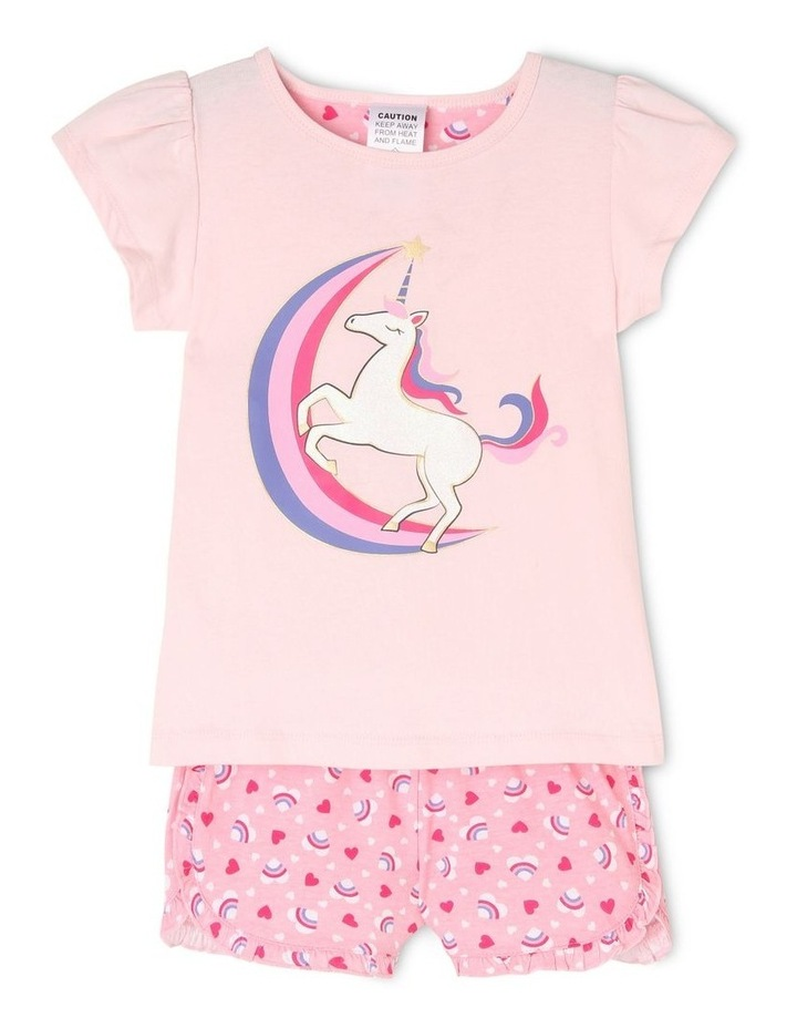Rainbow Moon and Unicorn Pyjama image 1