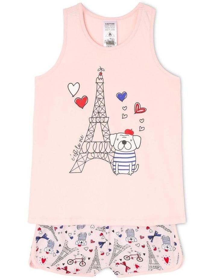 Parisienne Pug Pyjama Set image 1