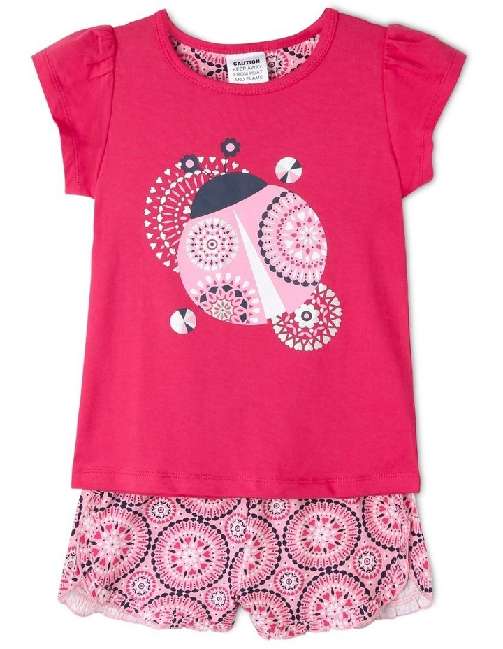 Girls Flowered Butterfly Pyjamas image 1