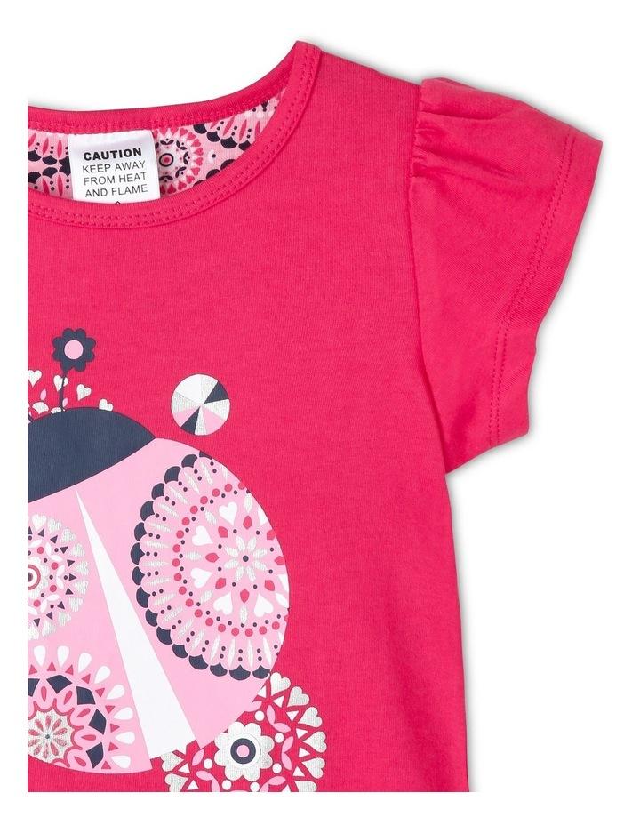 Girls Flowered Butterfly Pyjamas image 3