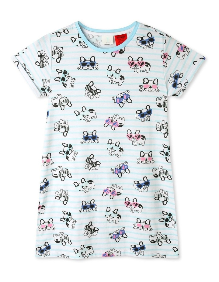 French Bulldog Stripe Nightie image 1
