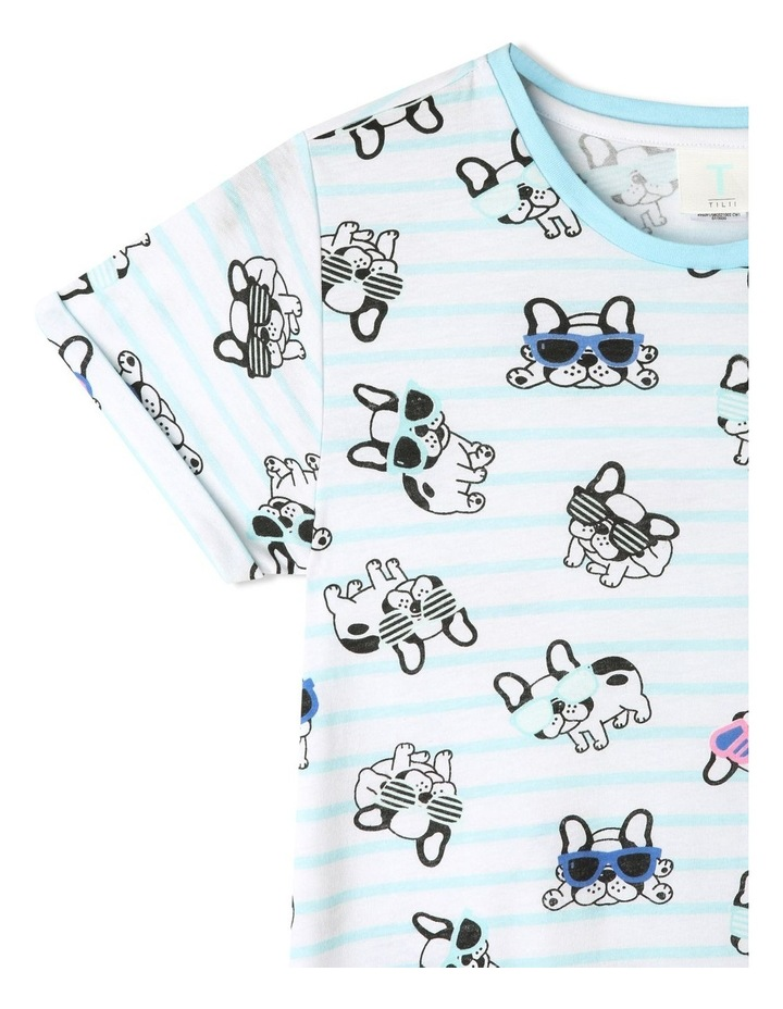 French Bulldog Stripe Nightie image 2