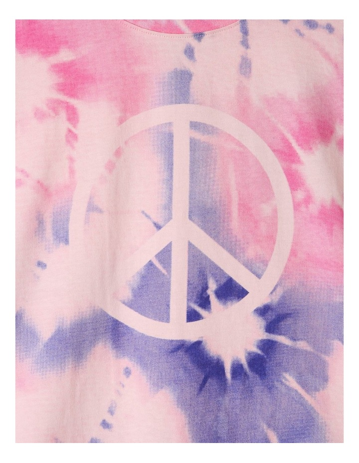 Peace Sign Tie-Dye Pyjama Set image 2