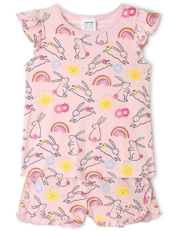 Bunny Print Pyjama Set image 1