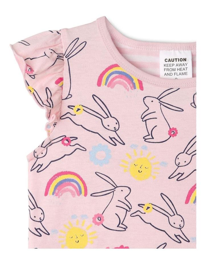 Bunny Print Pyjama Set image 2