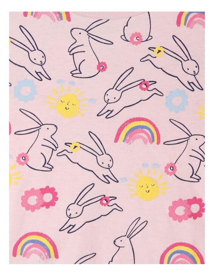 Bunny Print Pyjama Set image 3