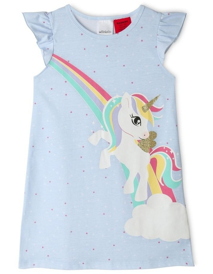 Rainbow Unicorn Nightie image 1
