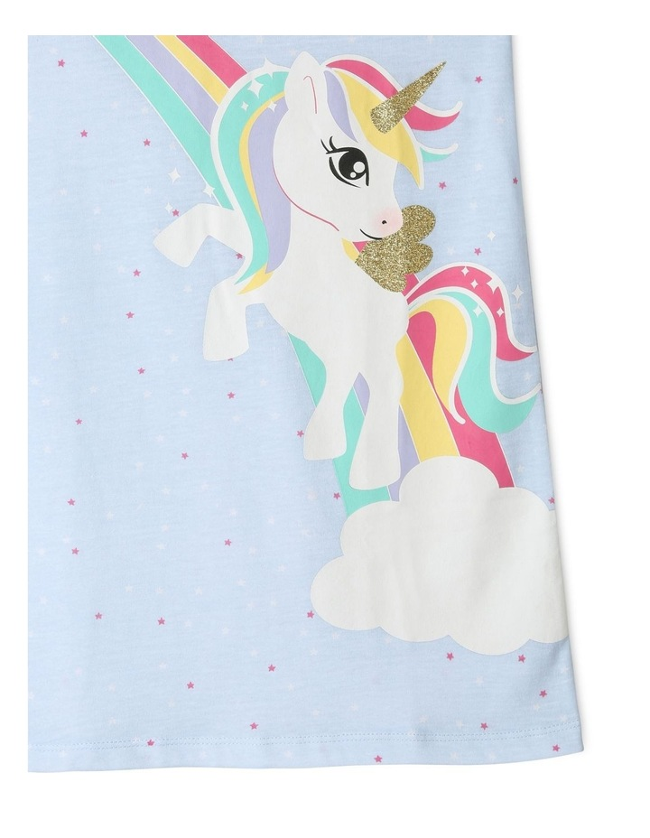 Rainbow Unicorn Nightie image 3