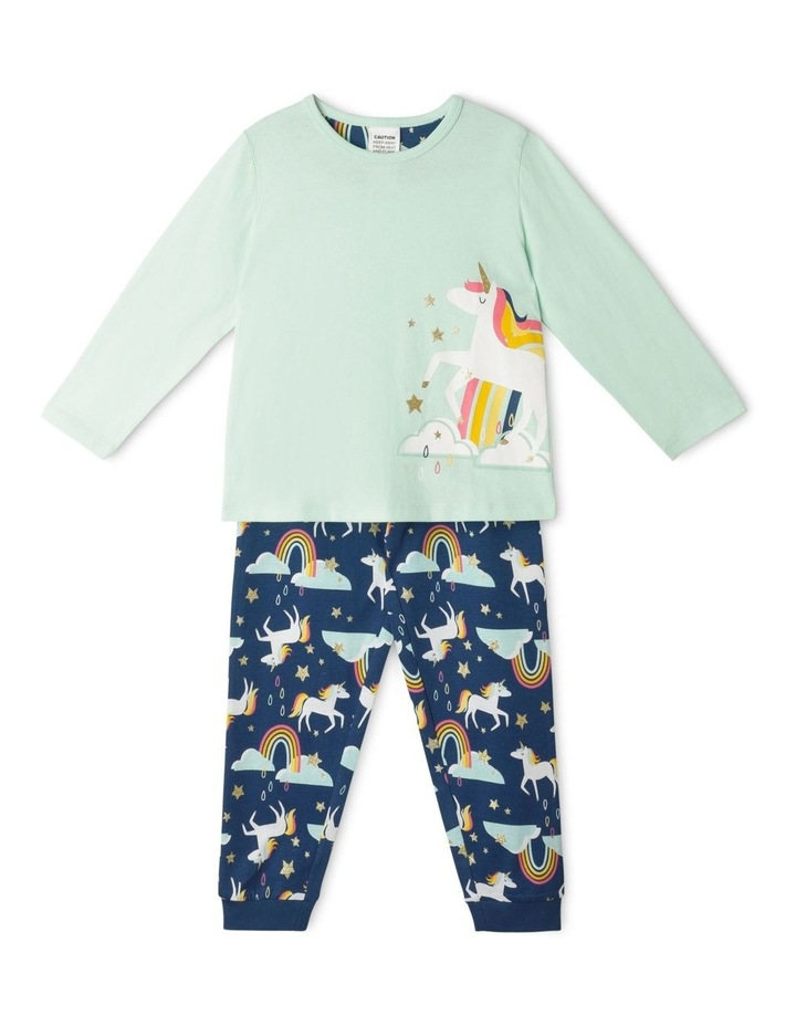 Unicorn & Rainbow Pyjama Set image 1