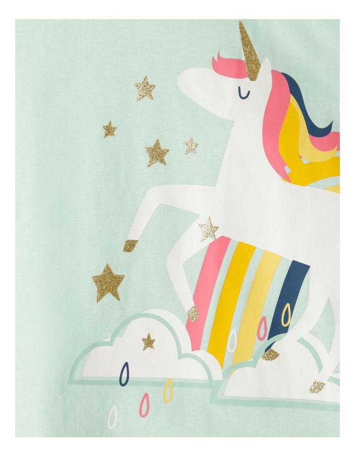 Unicorn & Rainbow Pyjama Set image 2