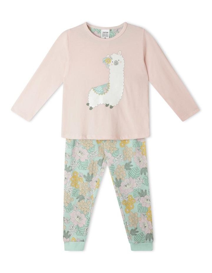 Glitter Llama Pyjama Set image 1