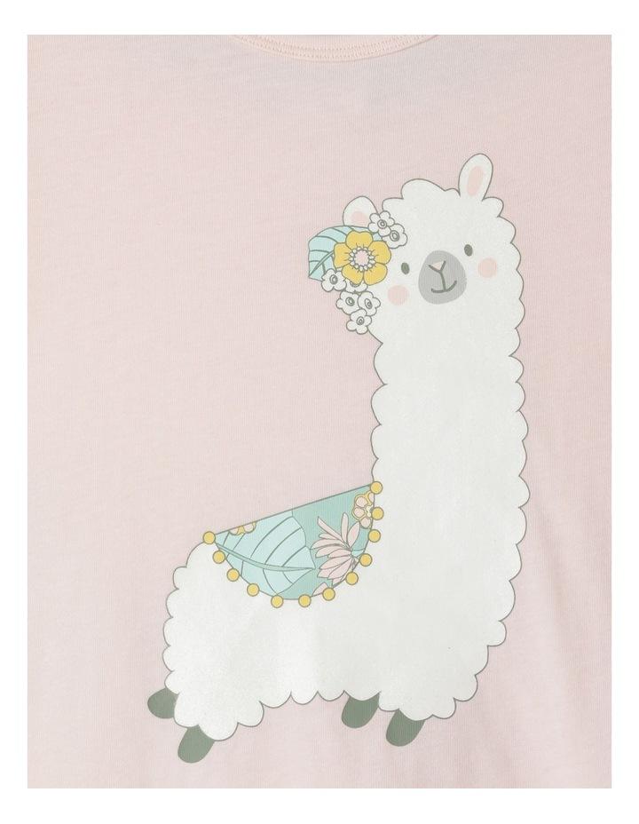 Glitter Llama Pyjama Set image 2