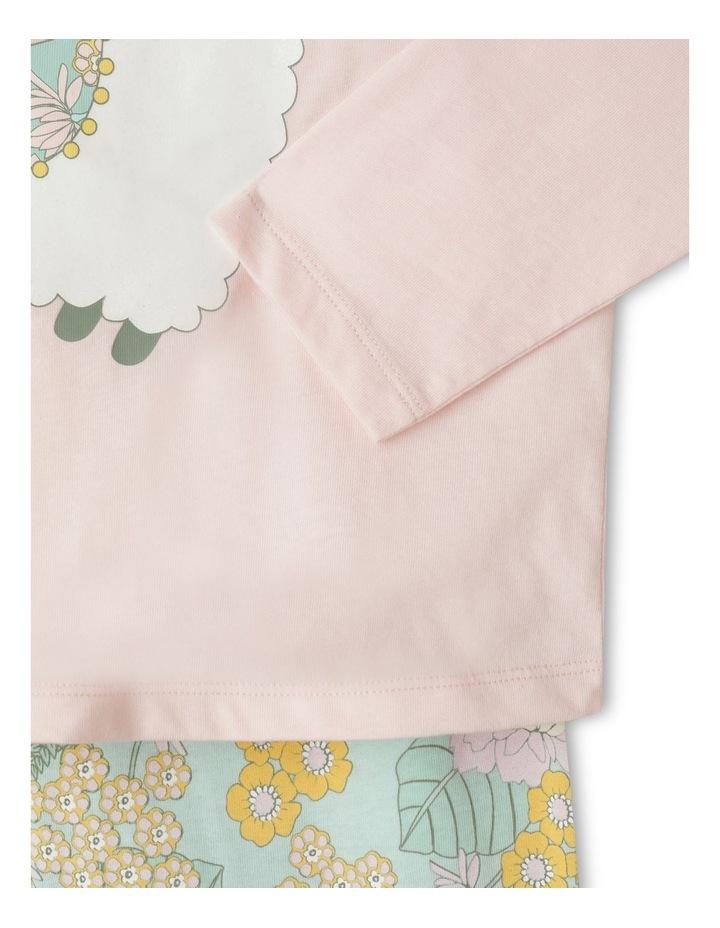 Glitter Llama Pyjama Set image 3