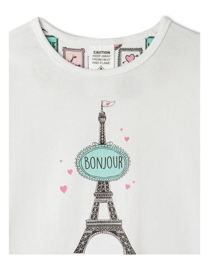 Bonjour Paris Pyjama Set image 2