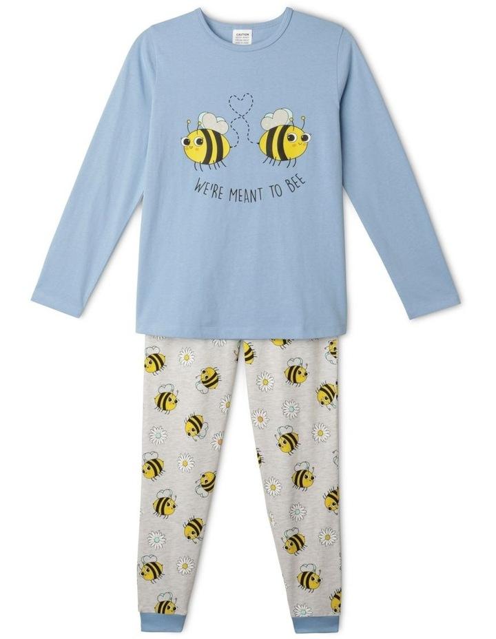 Meant To Bee Blue Pyjamas Set image 1