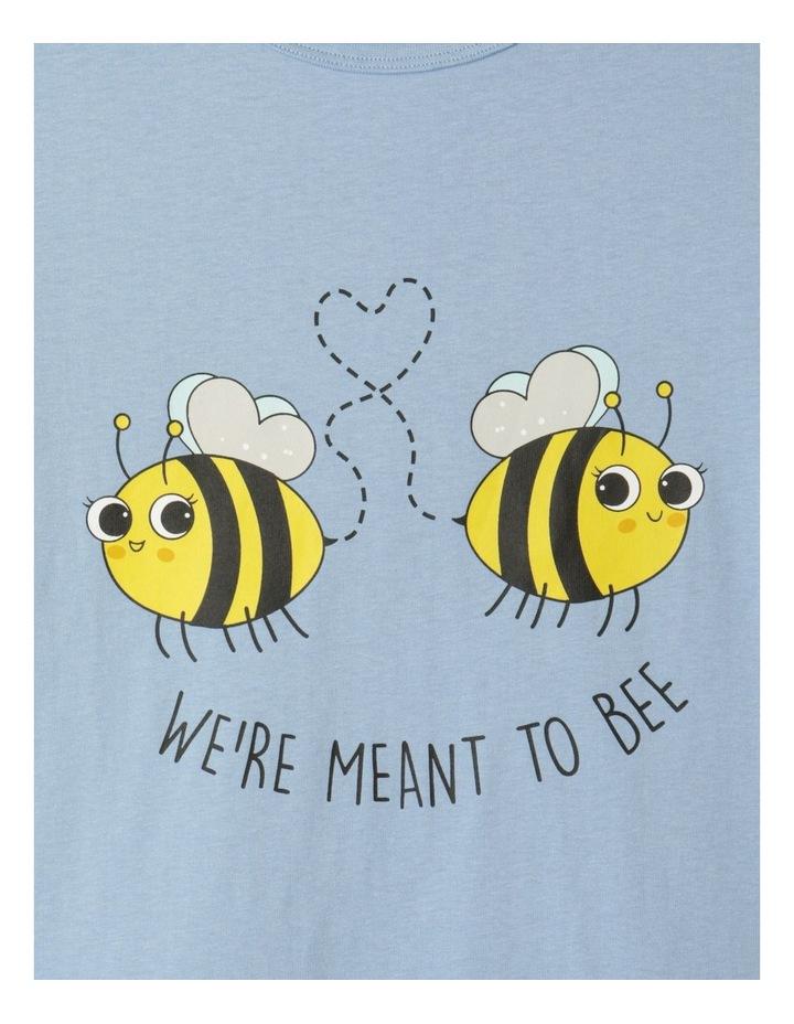 Meant To Bee Blue Pyjamas Set image 2