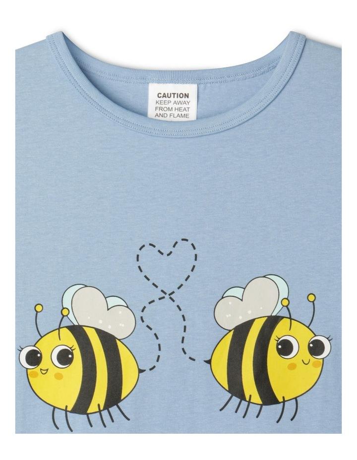 Meant To Bee Blue Pyjamas Set image 3