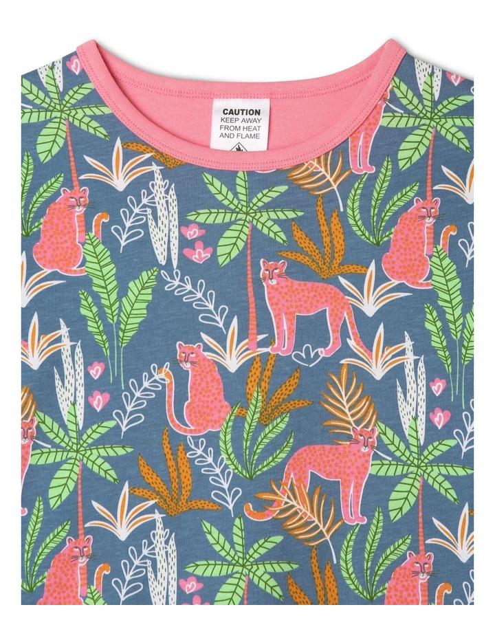 Jungle Wildcats Blue Pyjamas Set image 2